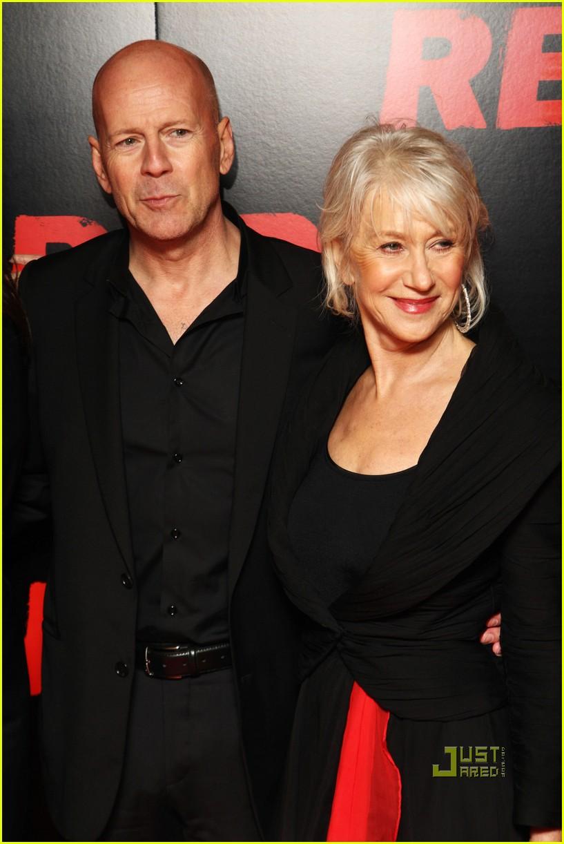 helen mirren bruce willis red uk film premiere 102488886