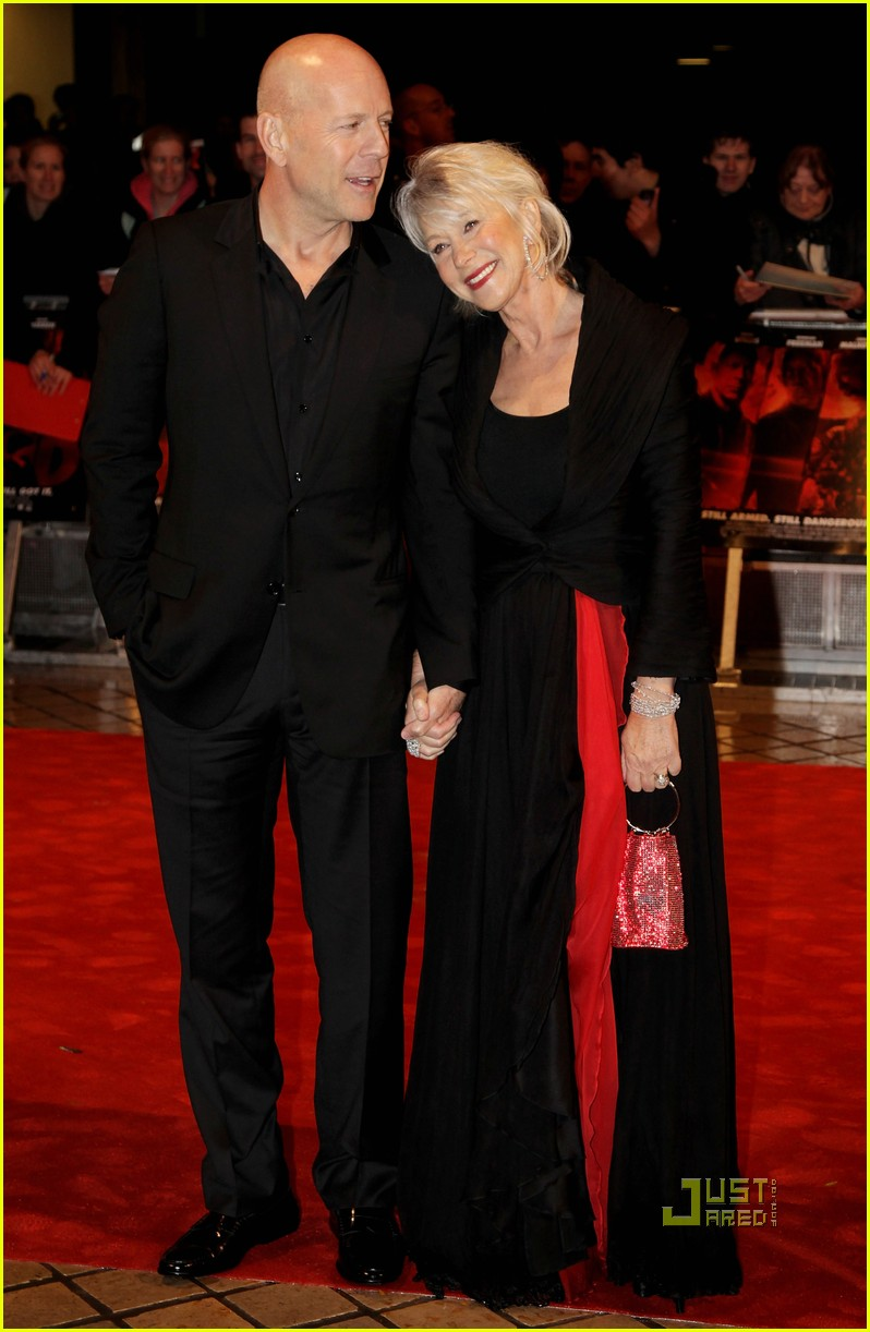 helen mirren bruce willis red uk film premiere 122488888