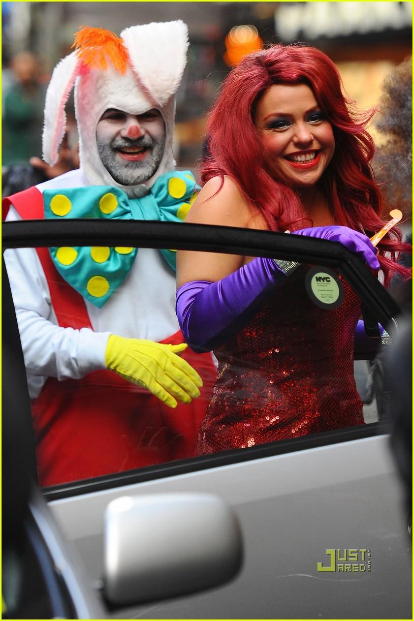 a5fb4db1406f Rachael Ray Is Jessica Rabbit -- Halloween Costume Revealed! Sc 1 St Just  Jared