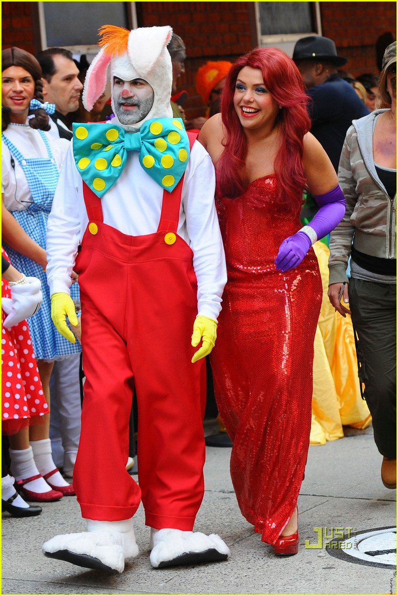 Rachael Ray is Jessica Rabbit -- Halloween Costume Revealed!  sc 1 st  Just Jared & Rachael Ray is Jessica Rabbit -- Halloween Costume Revealed!: Photo ...