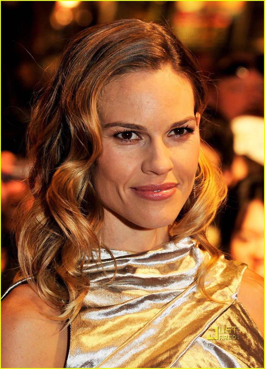 hilary swank conviction premiere in london 02