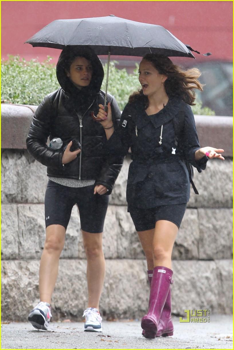 emma watson rainy workout 052485806