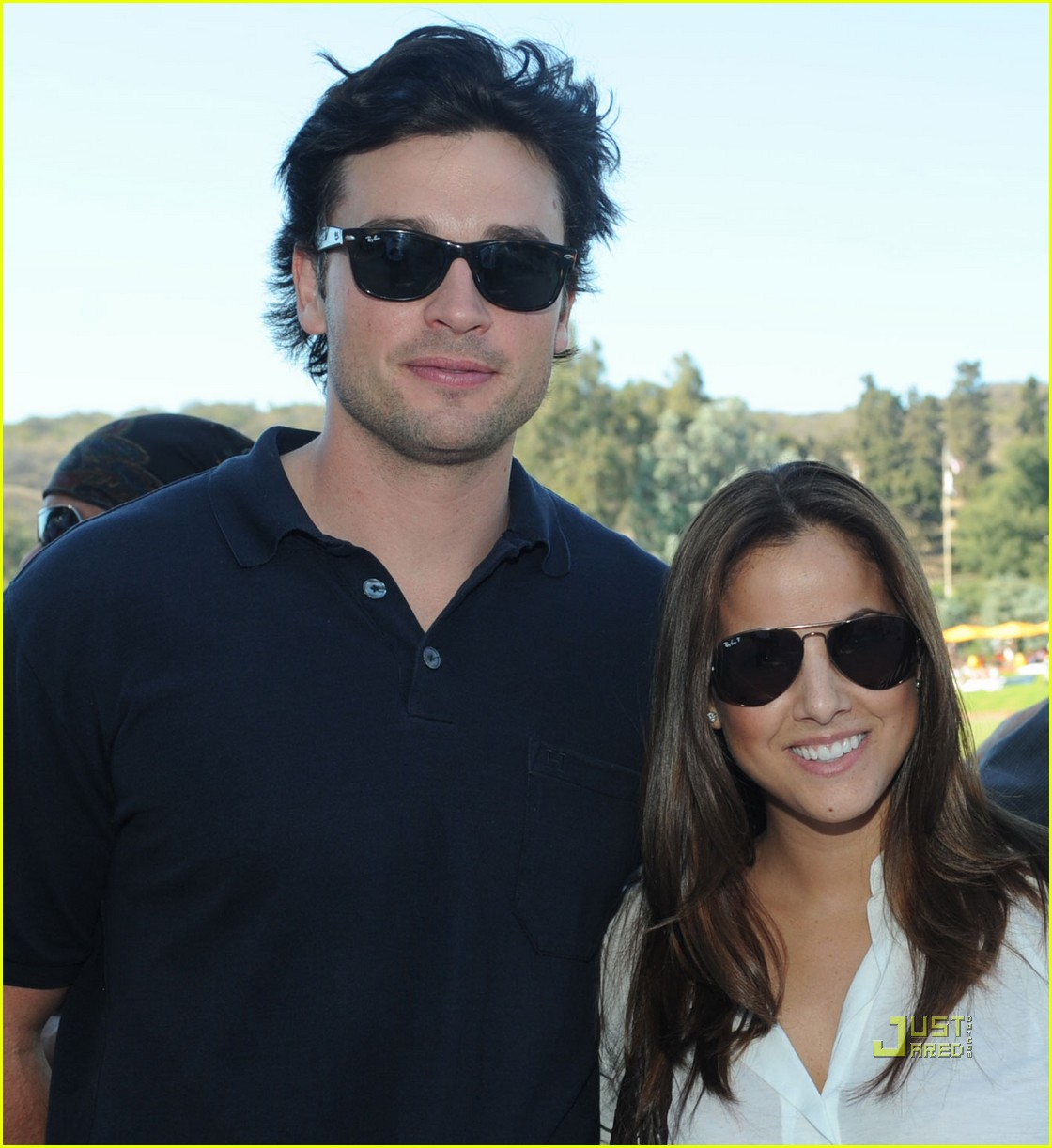 tom welling brittany snow veuve clicquot polo challenge 012486690