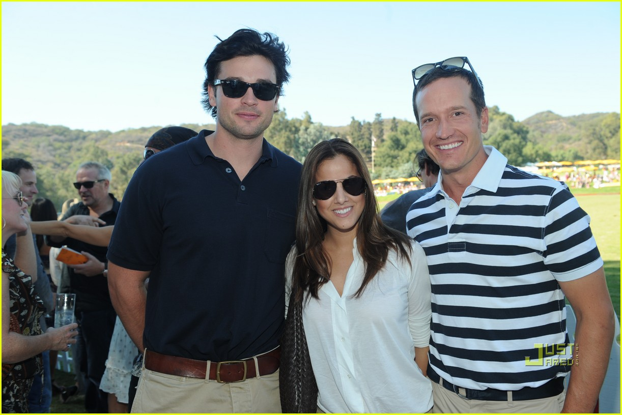 tom welling brittany snow veuve clicquot polo challenge 032486692