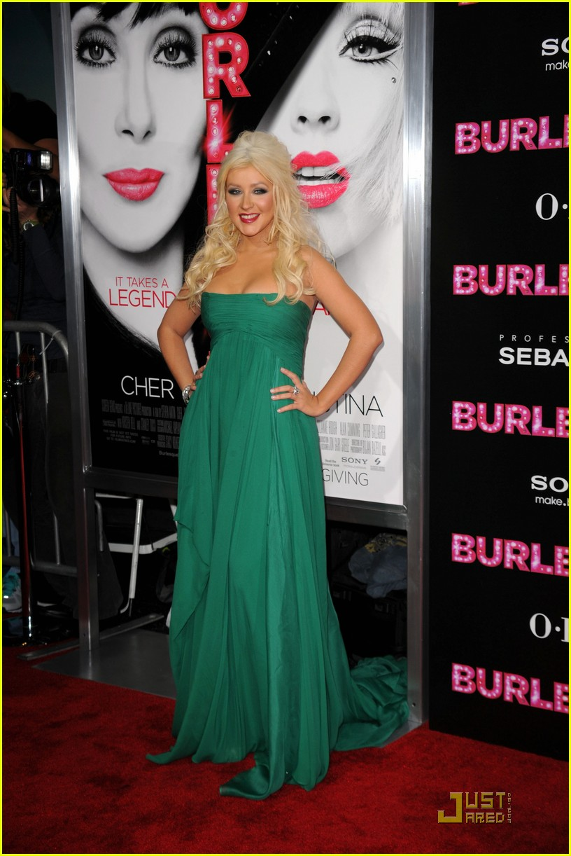 Christina Aguilera Burlesque Premiere With Cher Photo 2495864