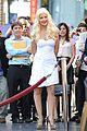 christina aguilera walk of fame star 13