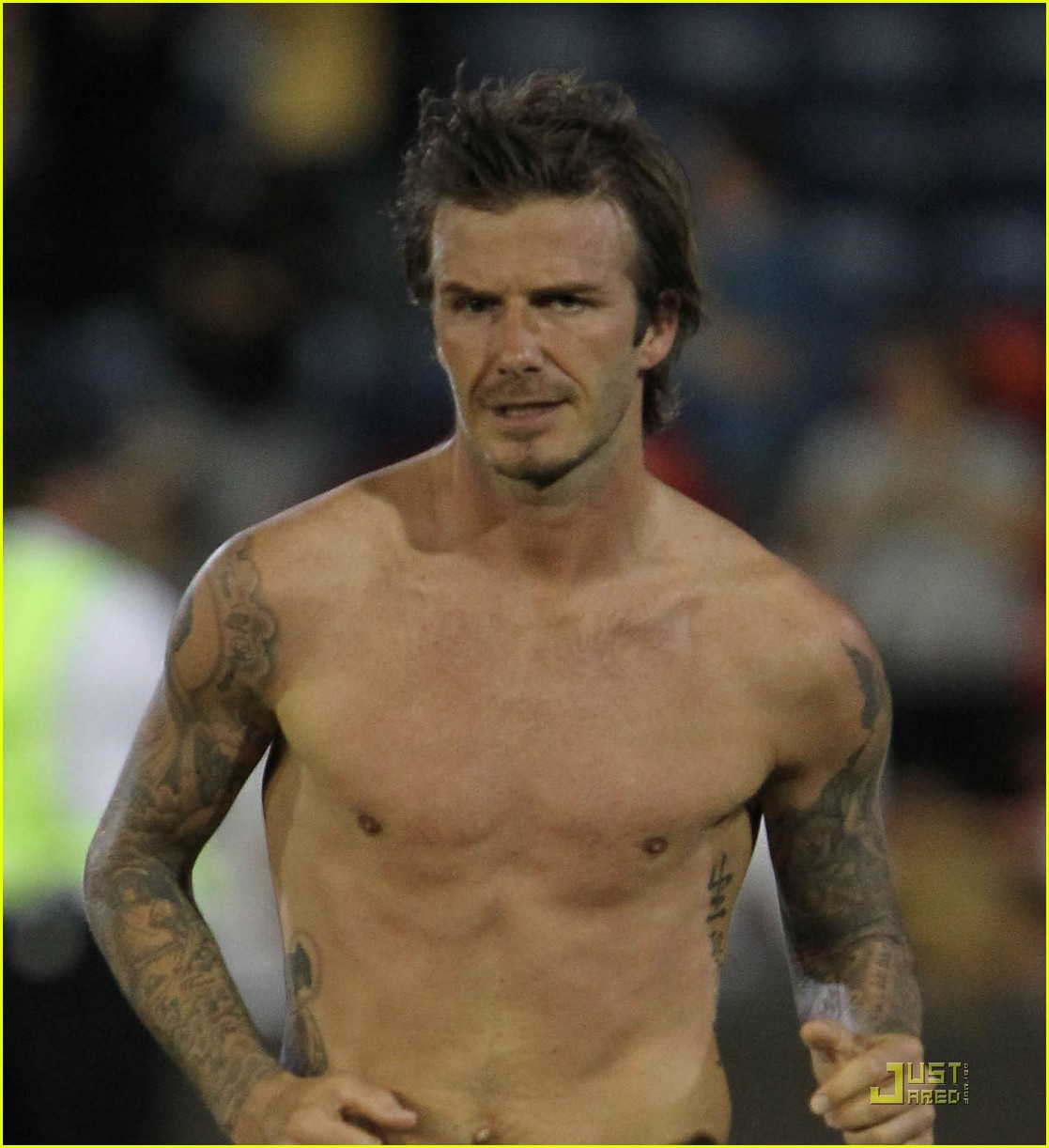 david beckham shirtless 082498907