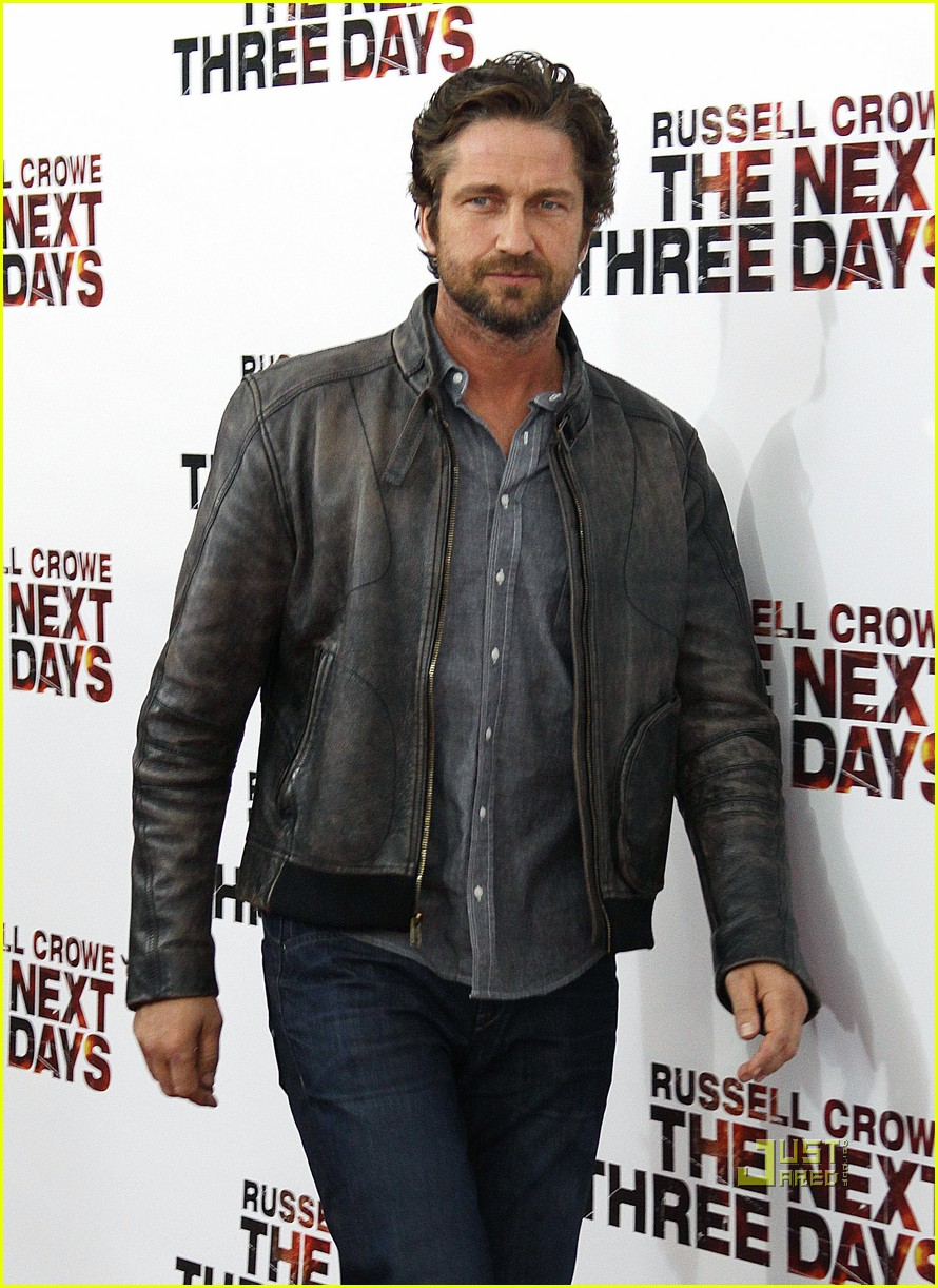 gerard butler next three days premiere 07
