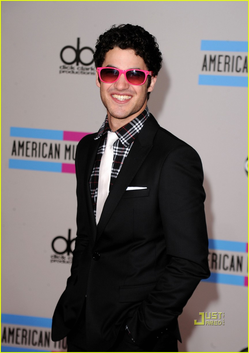 darren criss amas teenage dream with katy perry 01