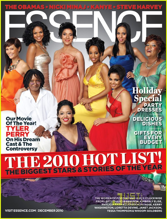 For Colored Girls\' Cast Covers \'Essence\' December 2010: Photo ...