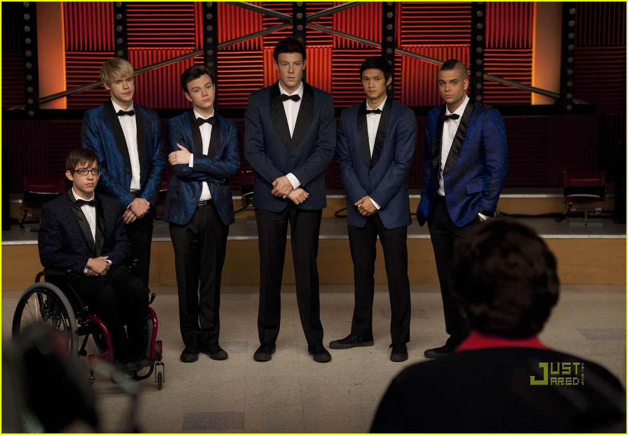 glee never been kissed first look 022493019