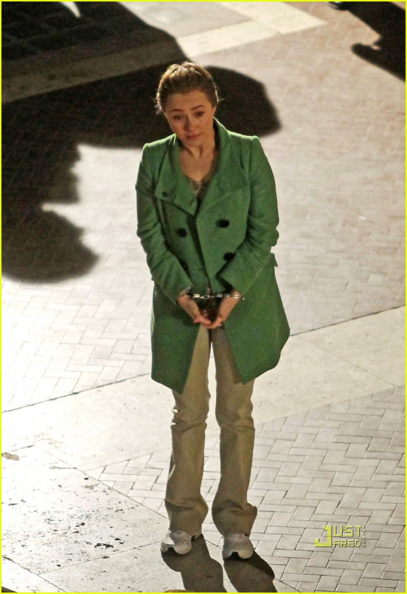 Hayden Panettiere Handcuffed For Amanda Knox Story