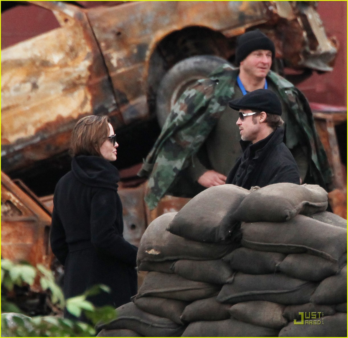 angelina jolie brad pitt filming 062494651