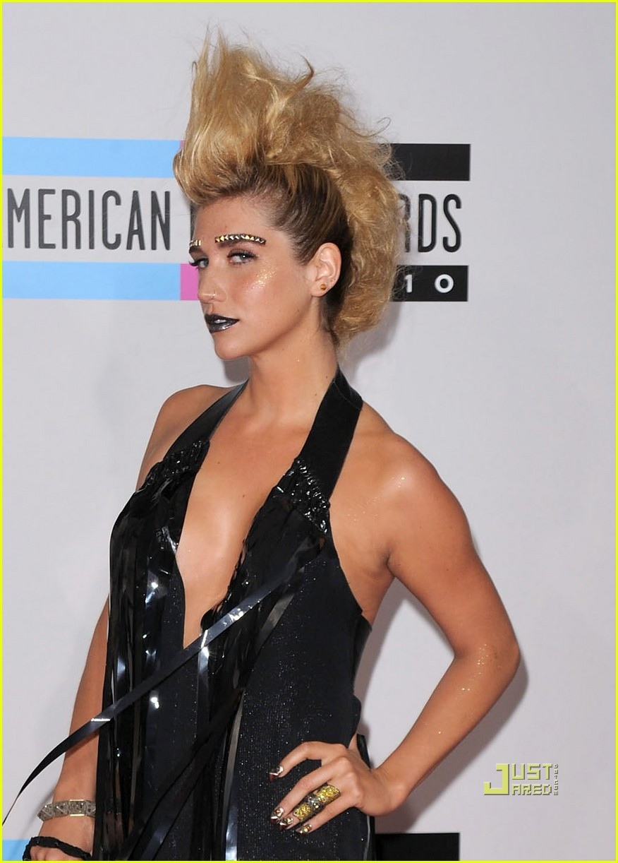 kesha amas studded eyebrows 03