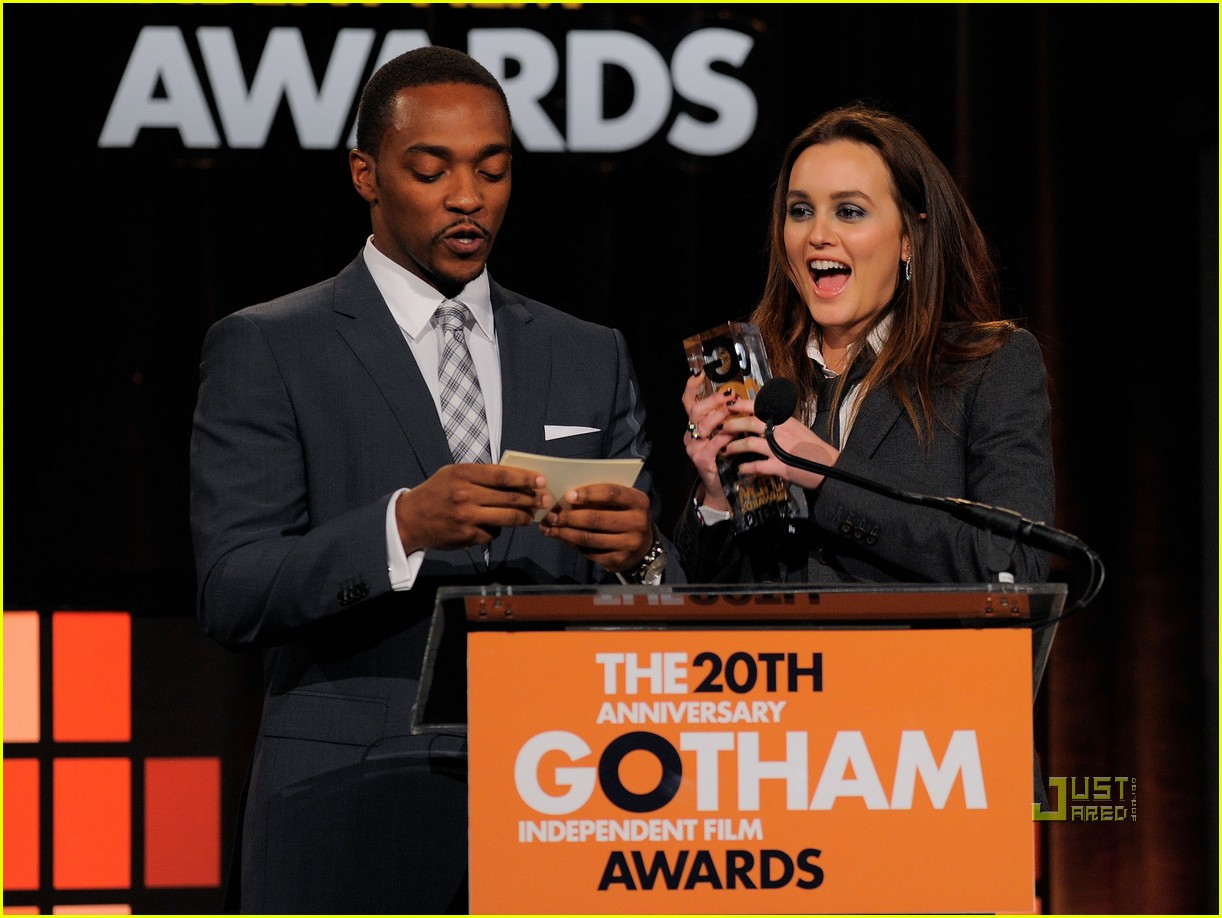 leighton meester gotham independent film awards 03