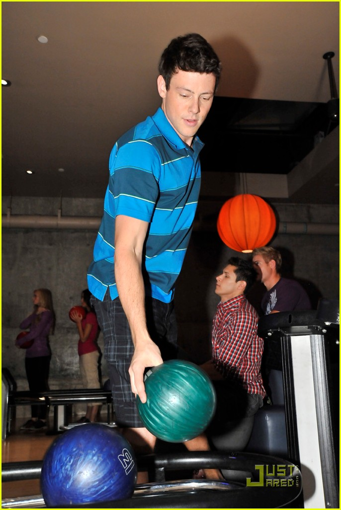 cory monteith bowling 182499495