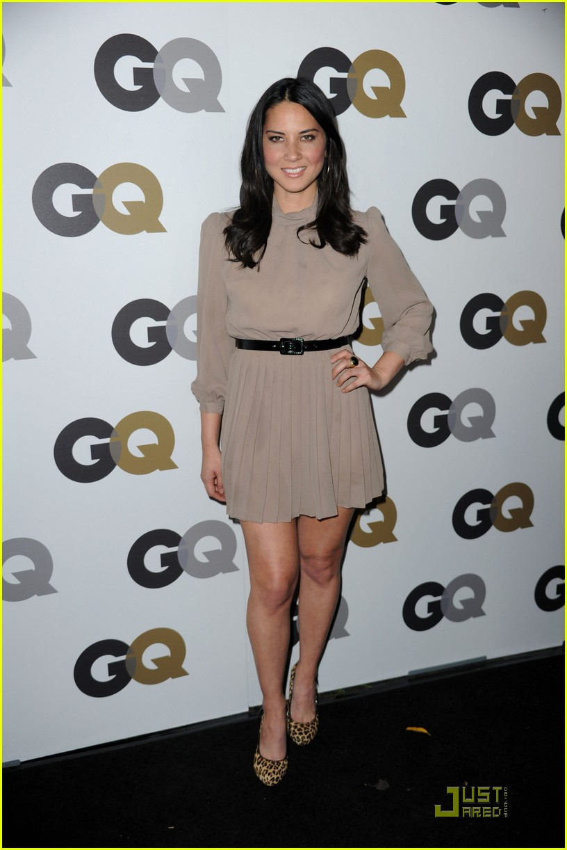 olivia munn milo gq party pair 03