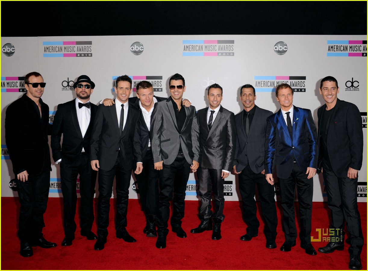 nkotbsb amas performance video 2010 08