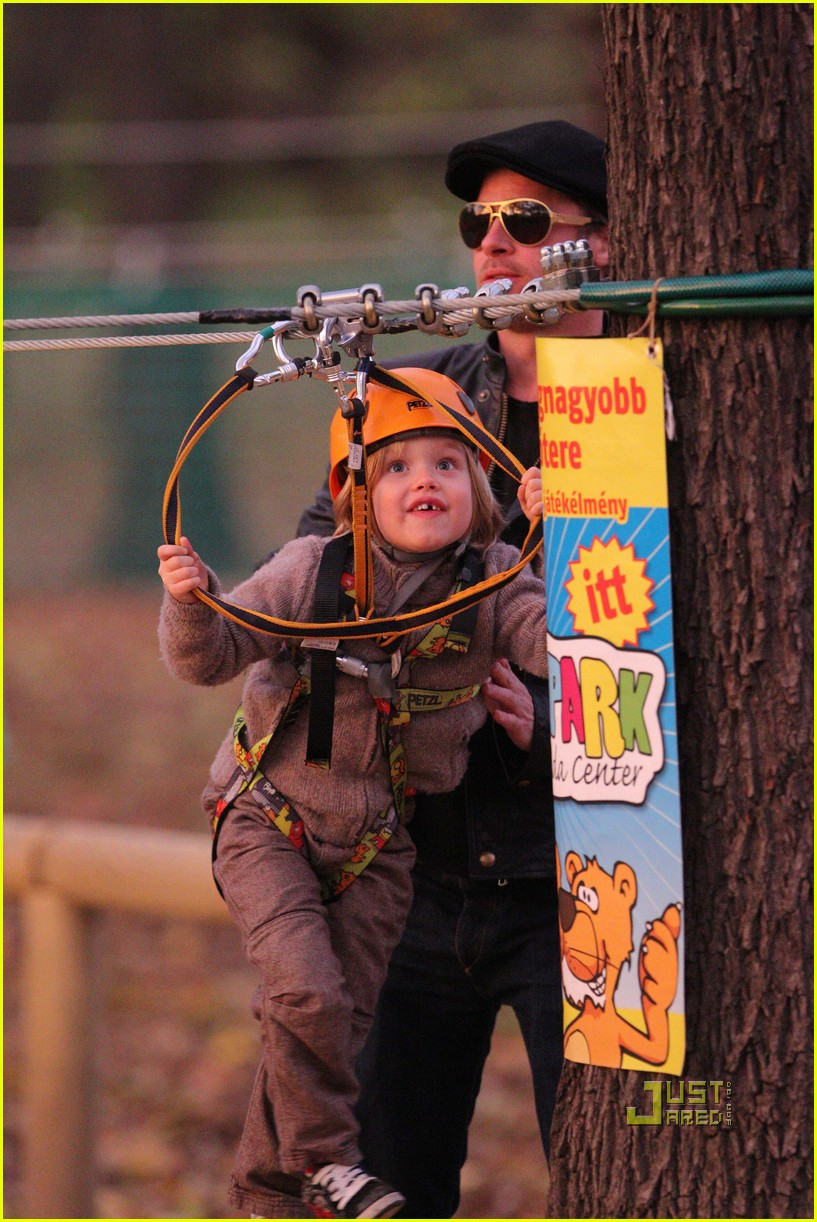 angelina jolie brad pitt park playtime with kids 072493053