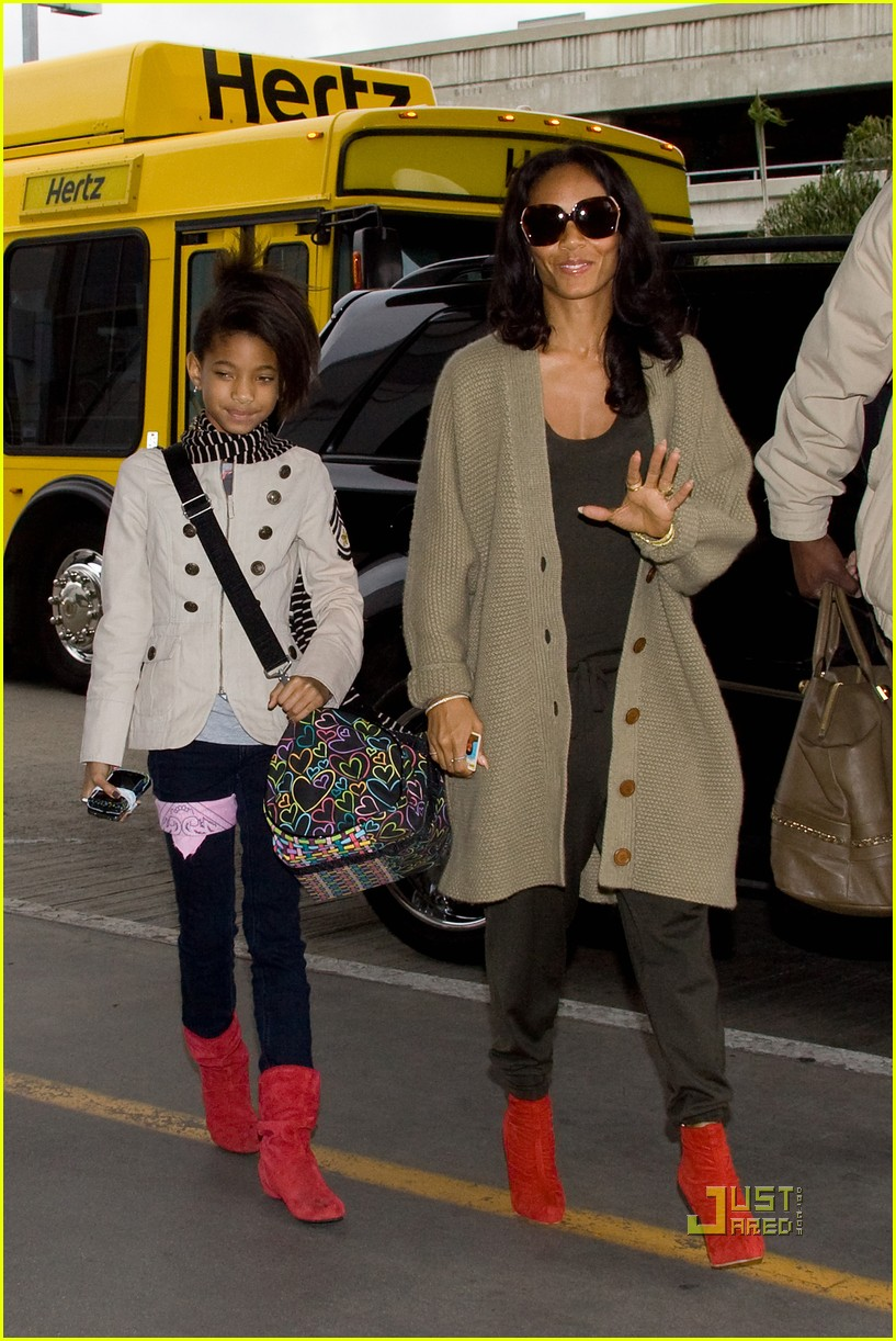 willow and jada pinkett smith rock red shoes 042493723
