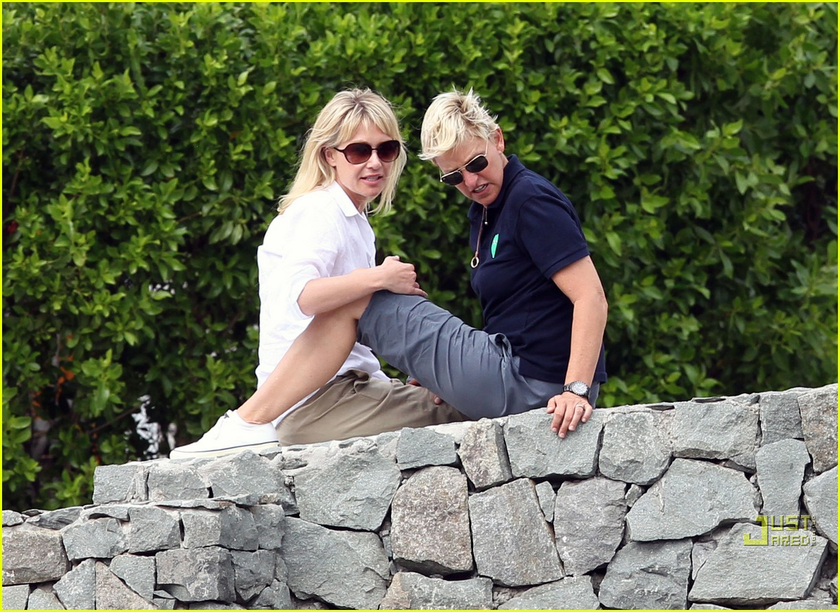 ellen degeneres portia de rossi happy together 012507235