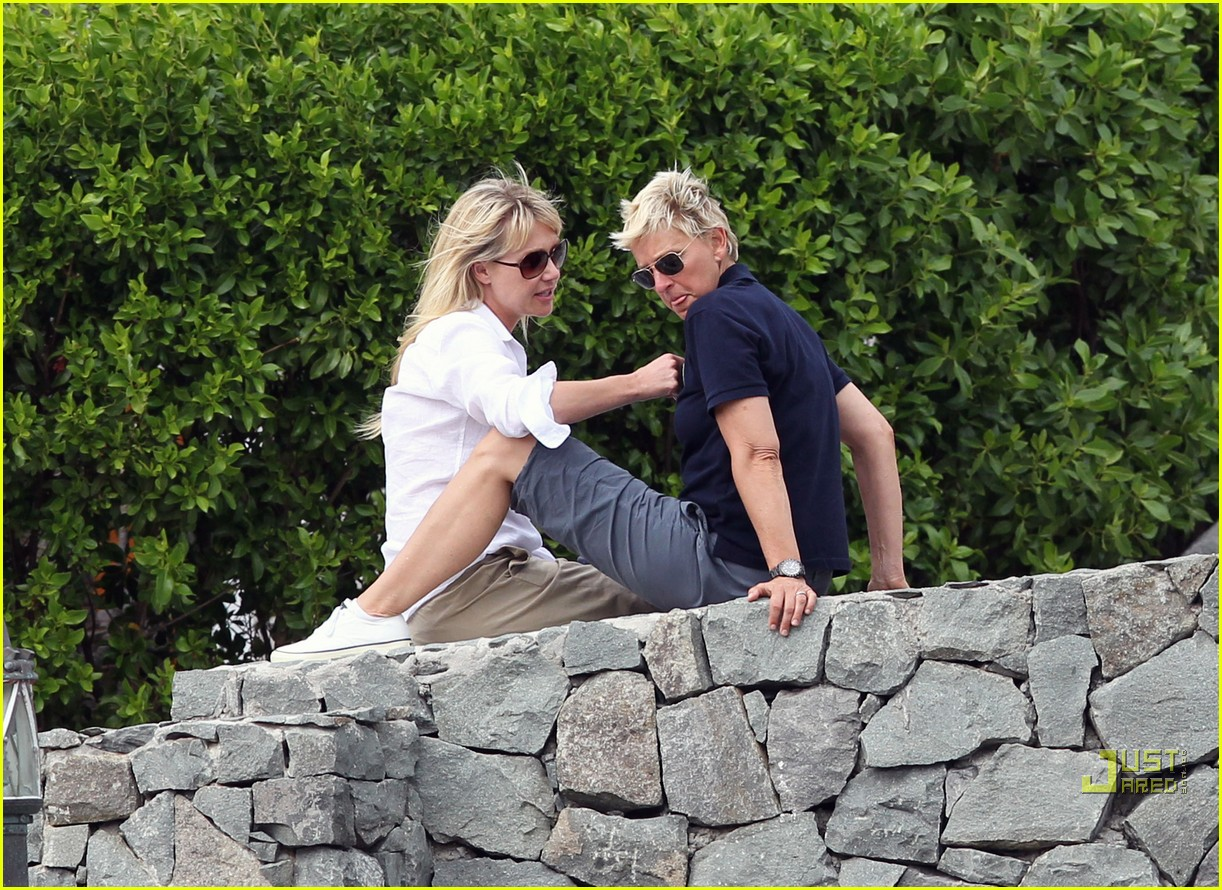 ellen degeneres portia de rossi happy together 082507242