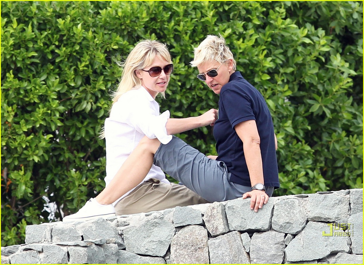 ellen degeneres portia de rossi happy together 09