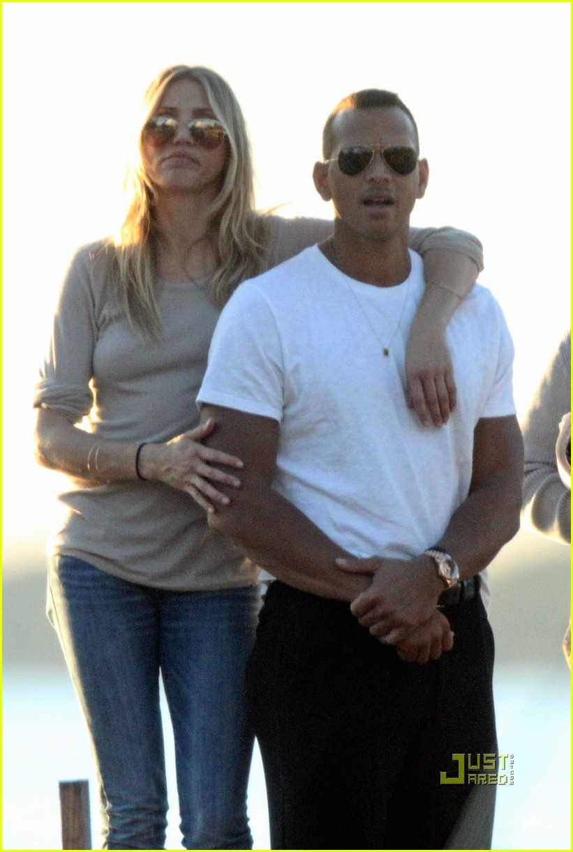 cameron diaz alex rodriguez touchy feely miami 102503312