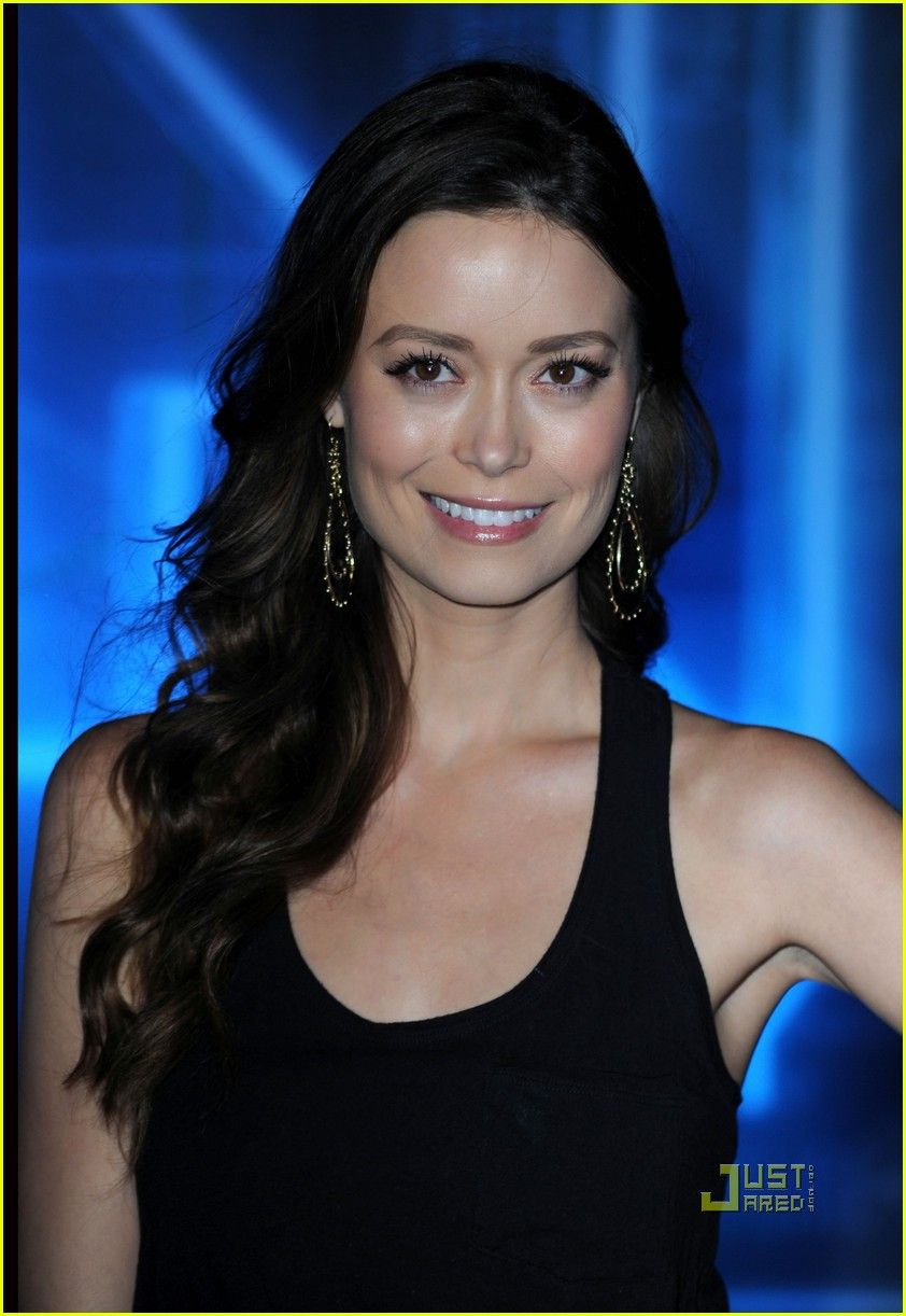 beau garrett & summer glau: 'tron' premiere pair!: photo 2503058