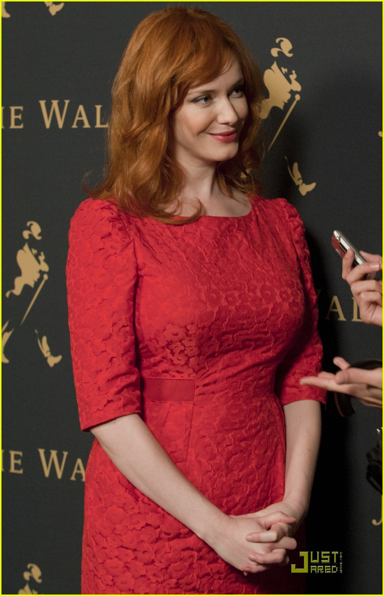 christina hendricks johnny walker house 01