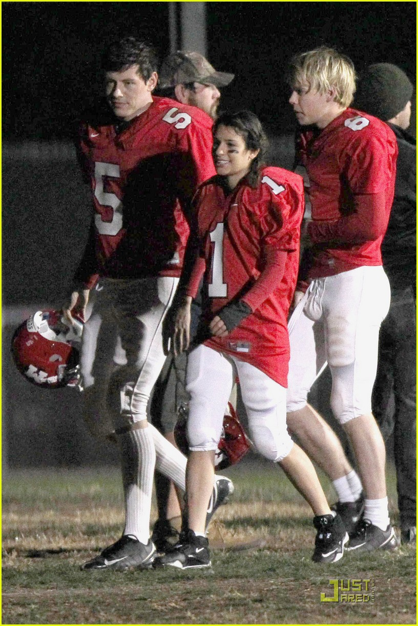 lea michele glee football player 06
