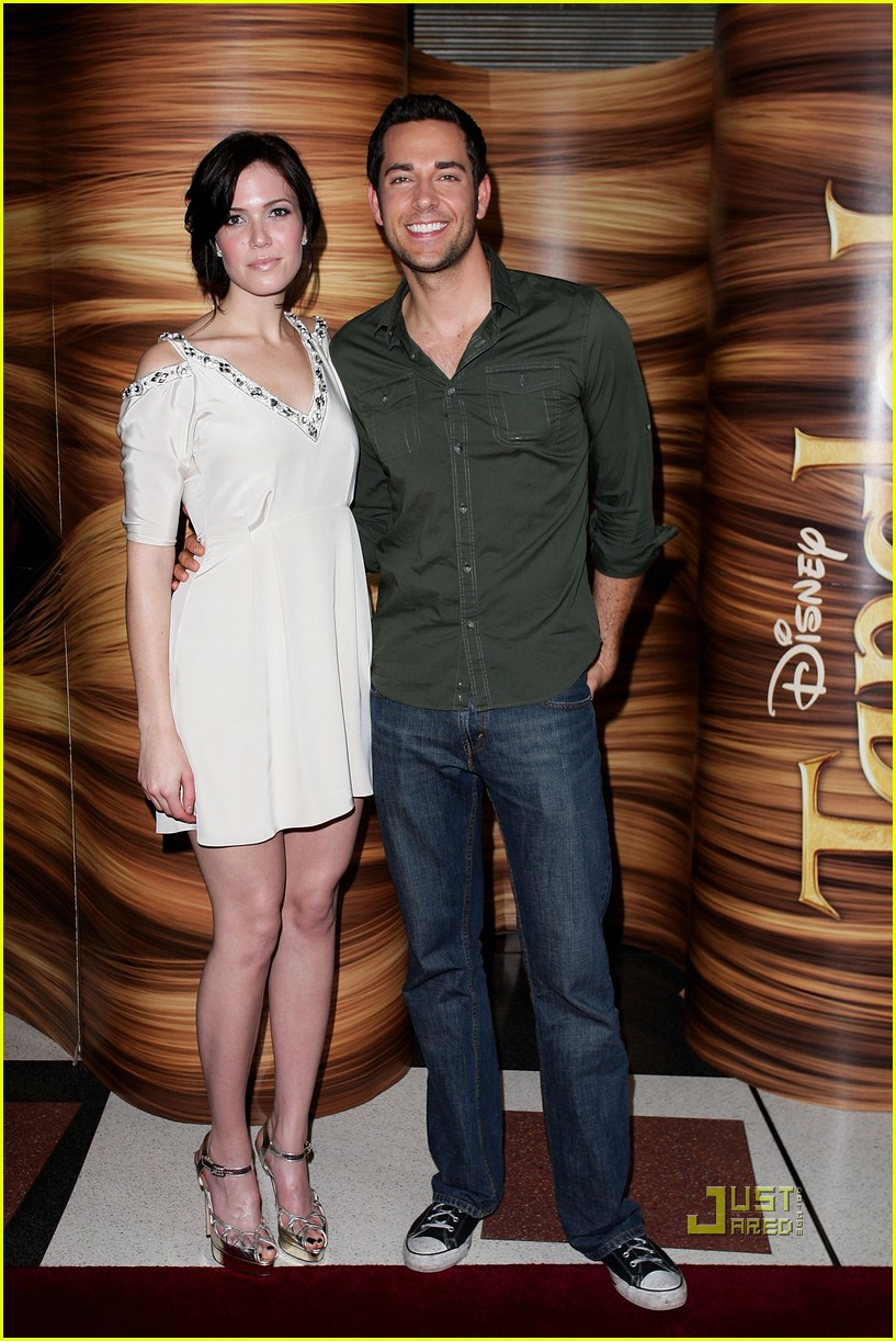 Zachary Levi And Mandy Moore Married