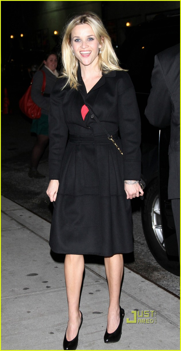 reese witherspoon late show david letterman 022501670