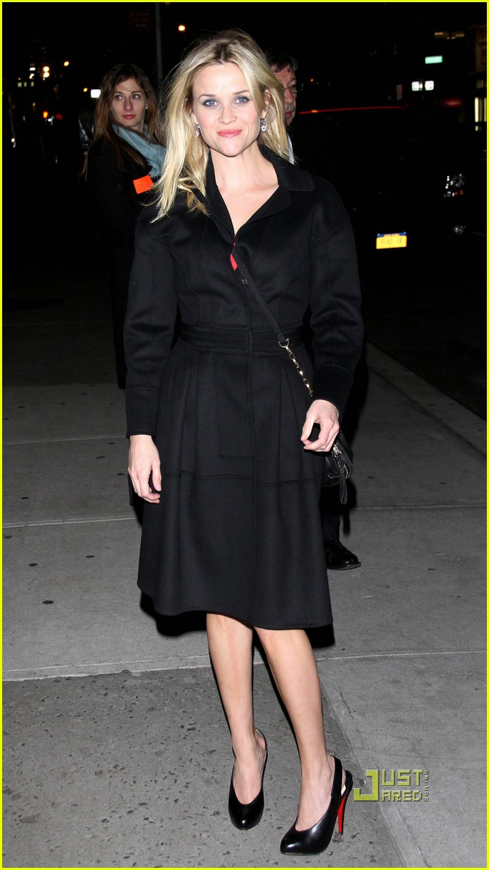 reese witherspoon late show david letterman 10