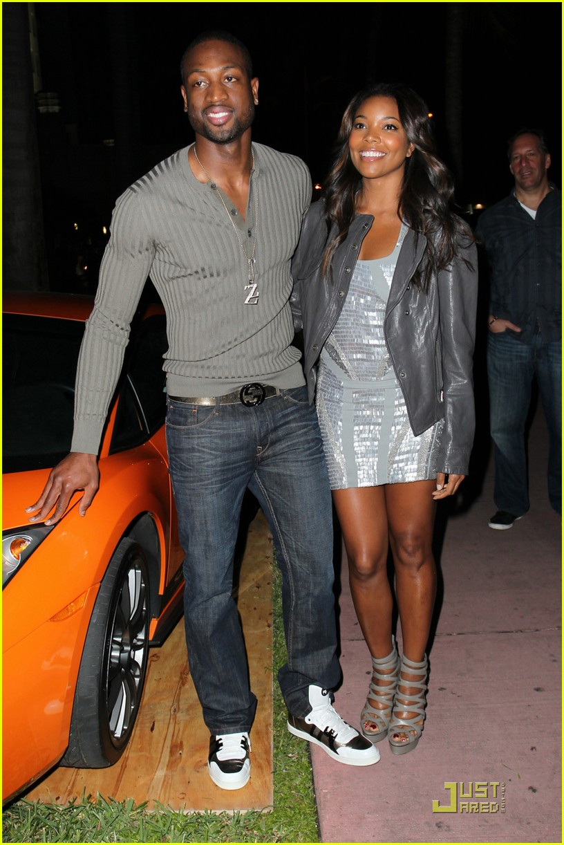 gabrielle union lebron james party 072507345