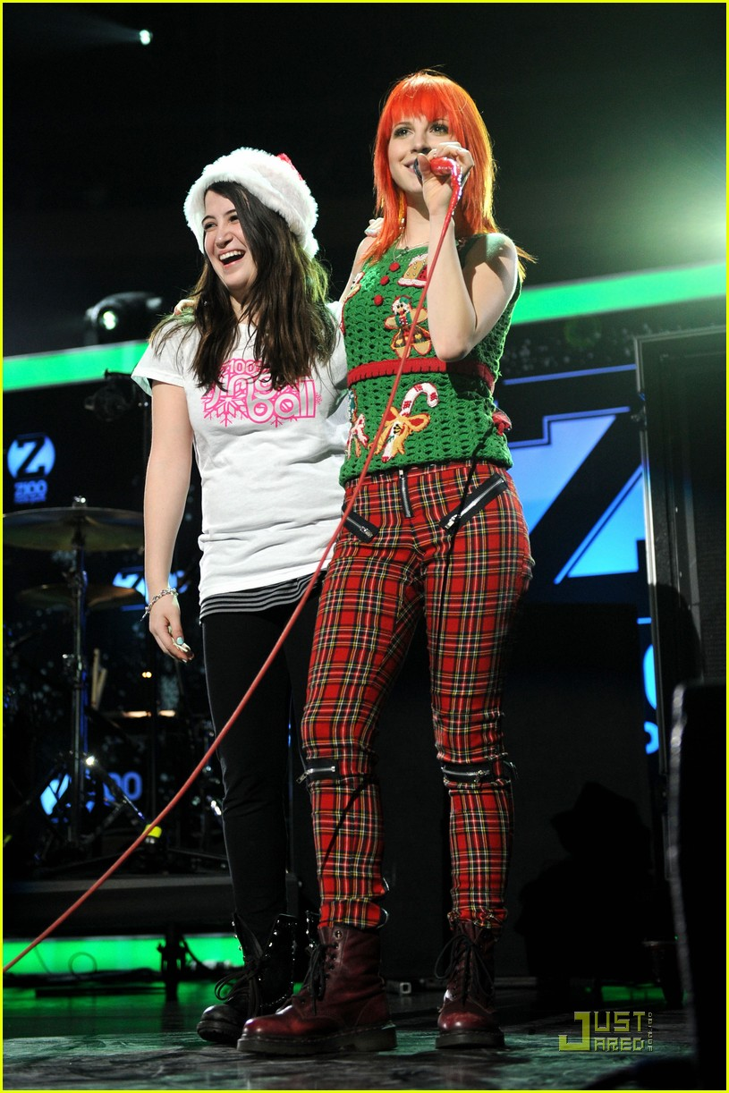 hayley williams z100 jingle ball 032502609