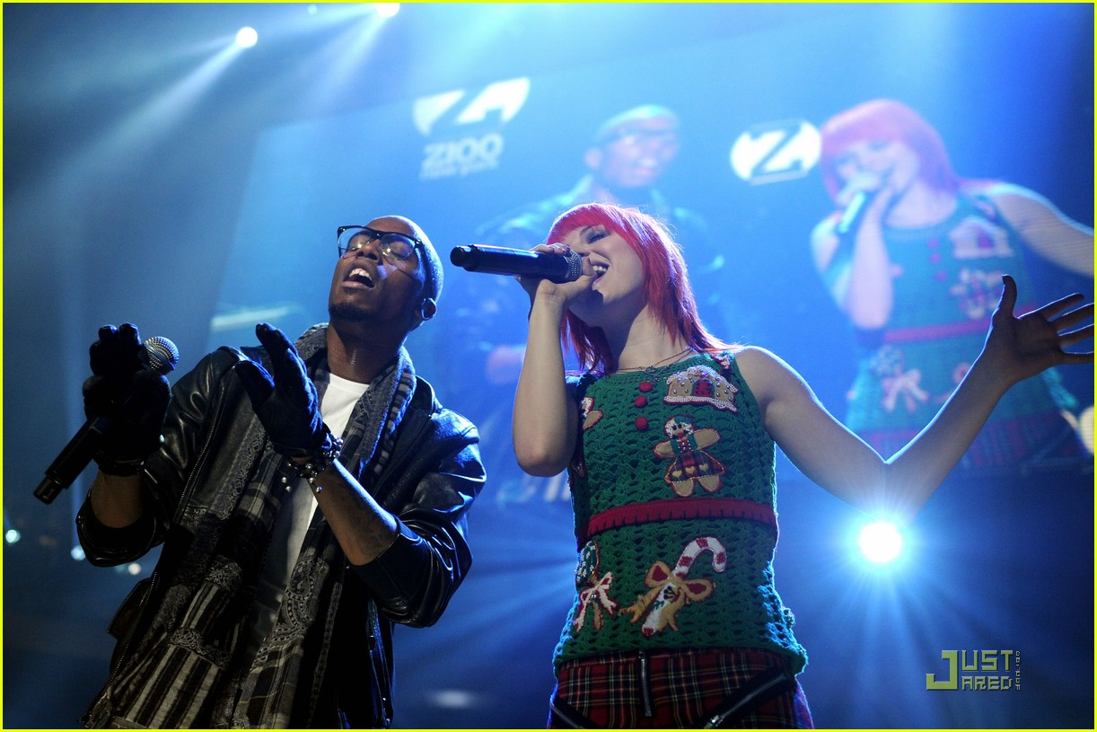 hayley williams z100 jingle ball 092502615
