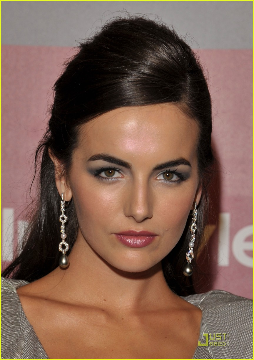 Camilla Belle Sexy In Silver At Golden Globes After Party Photo