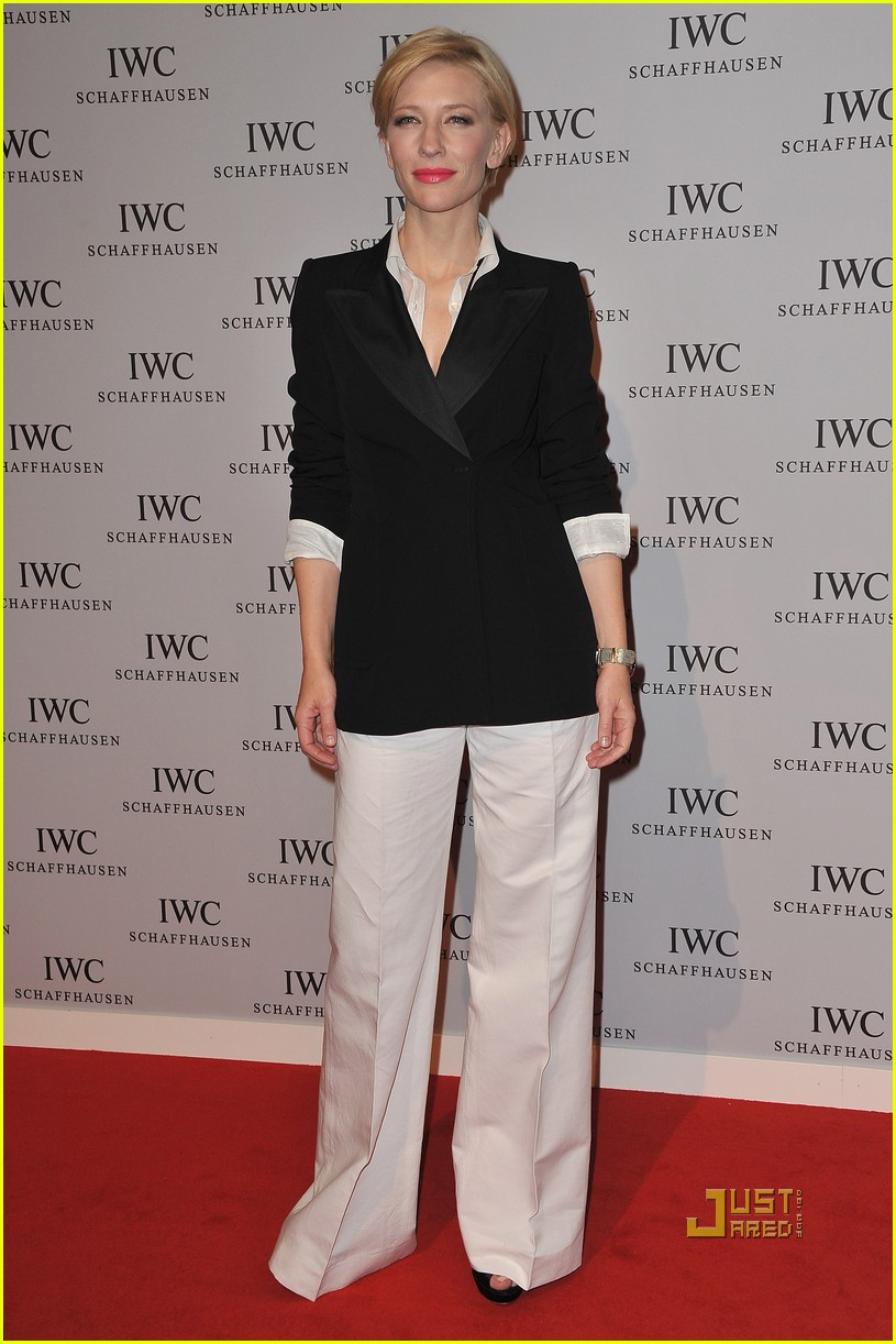 cate blanchett iwc launch portofino watch 012512697