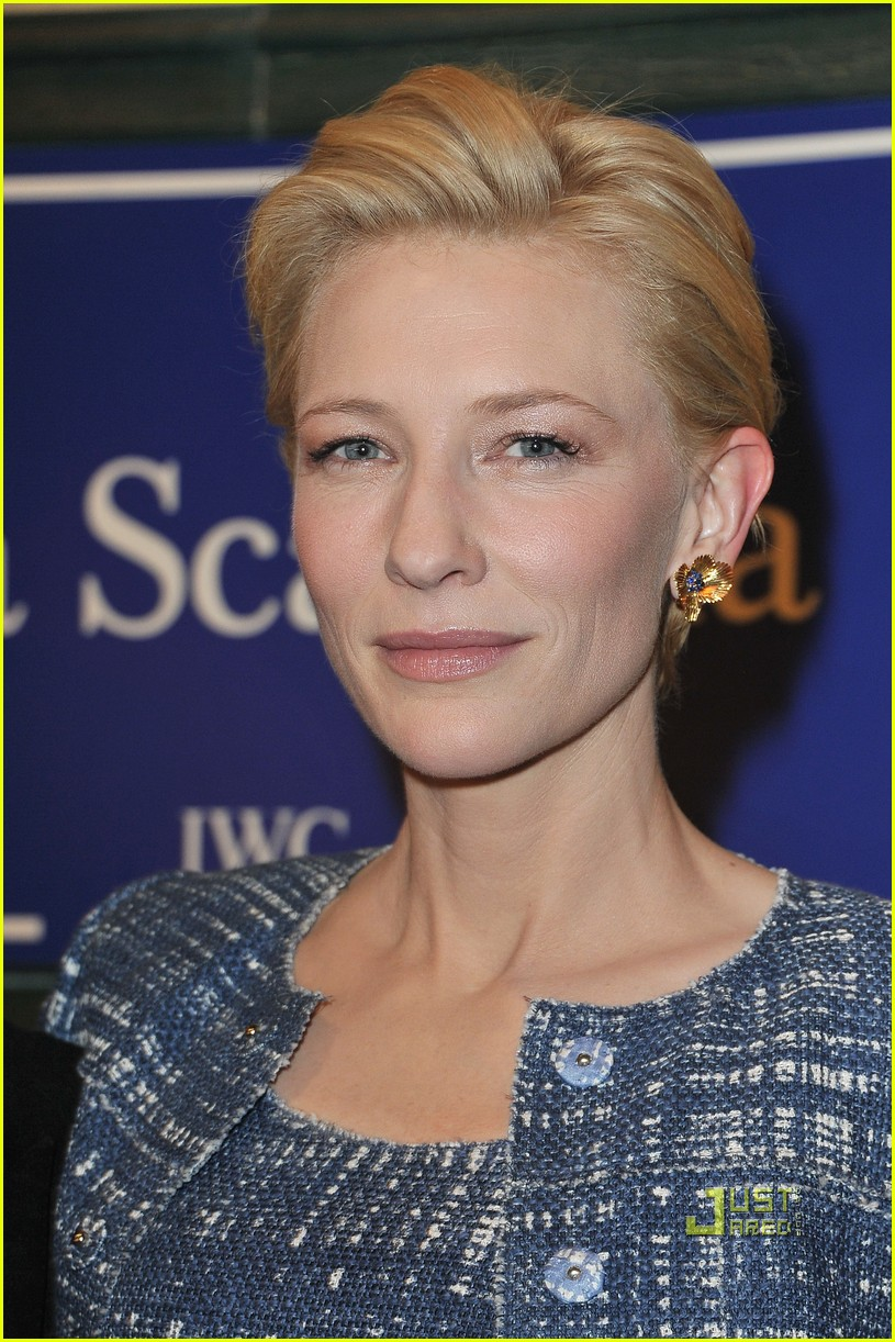 cate blanchett iwc launch portofino watch 082512704