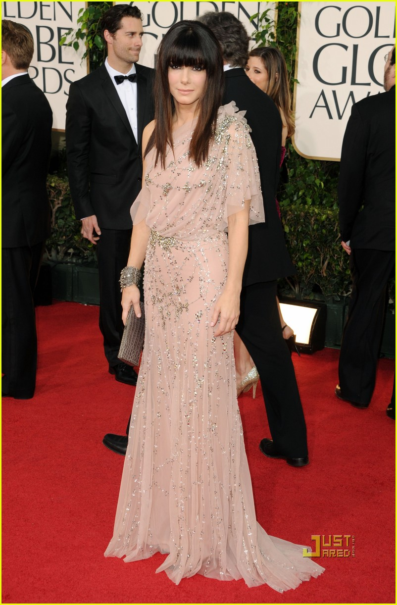 sandra bullock 2011 golden globes 07