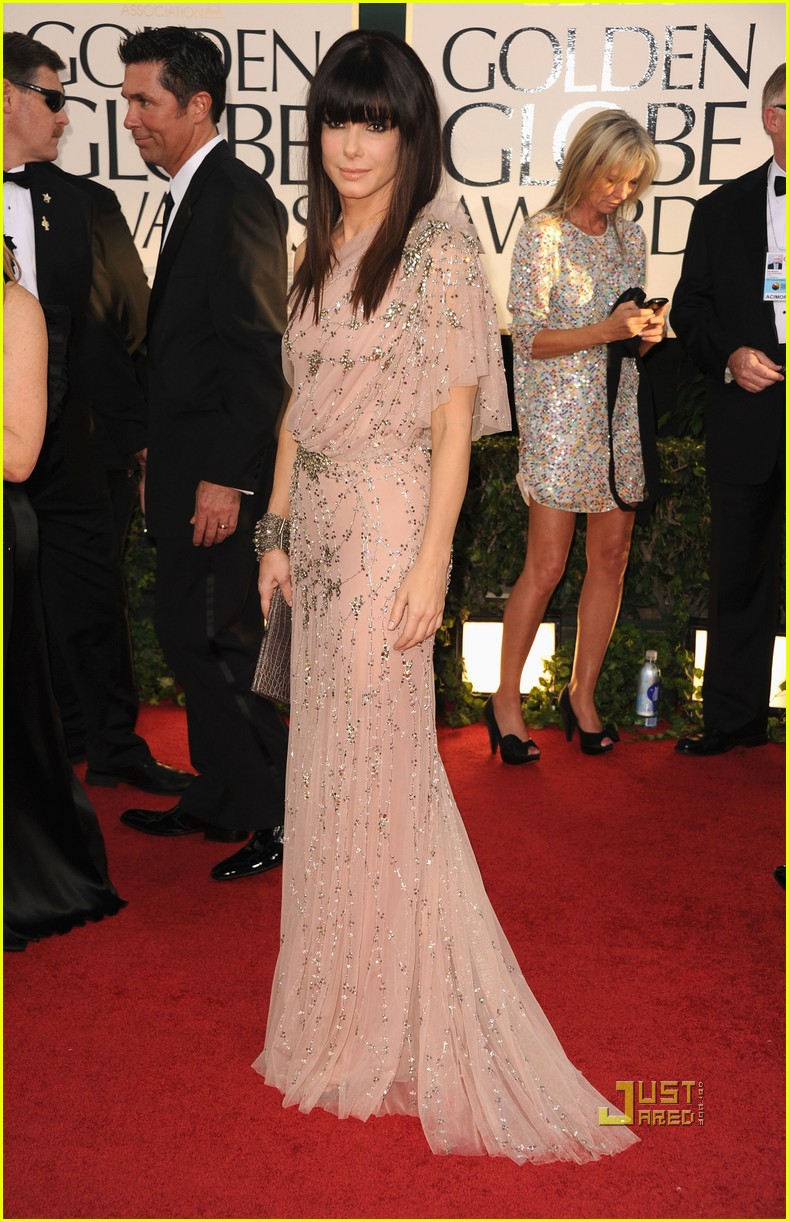 sandra bullock 2011 golden globes 09