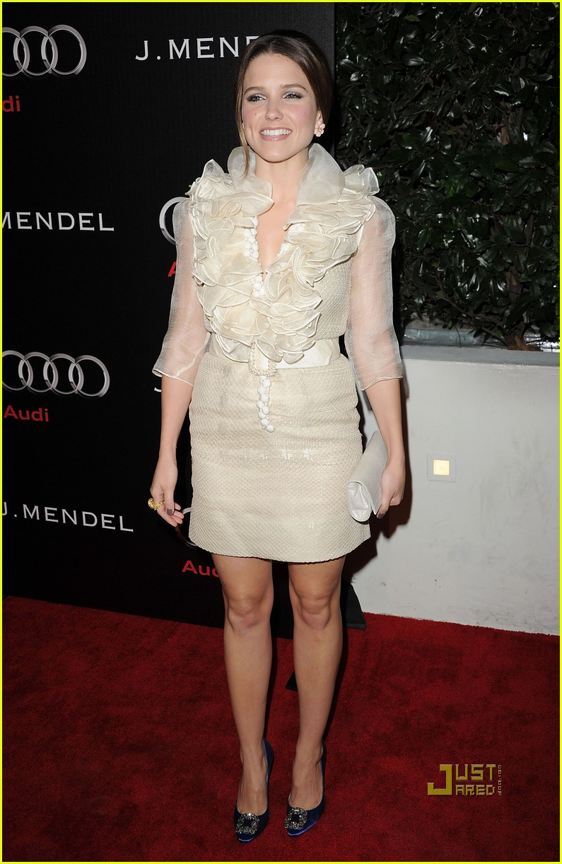 sophia bush audi jmendel party 022509695