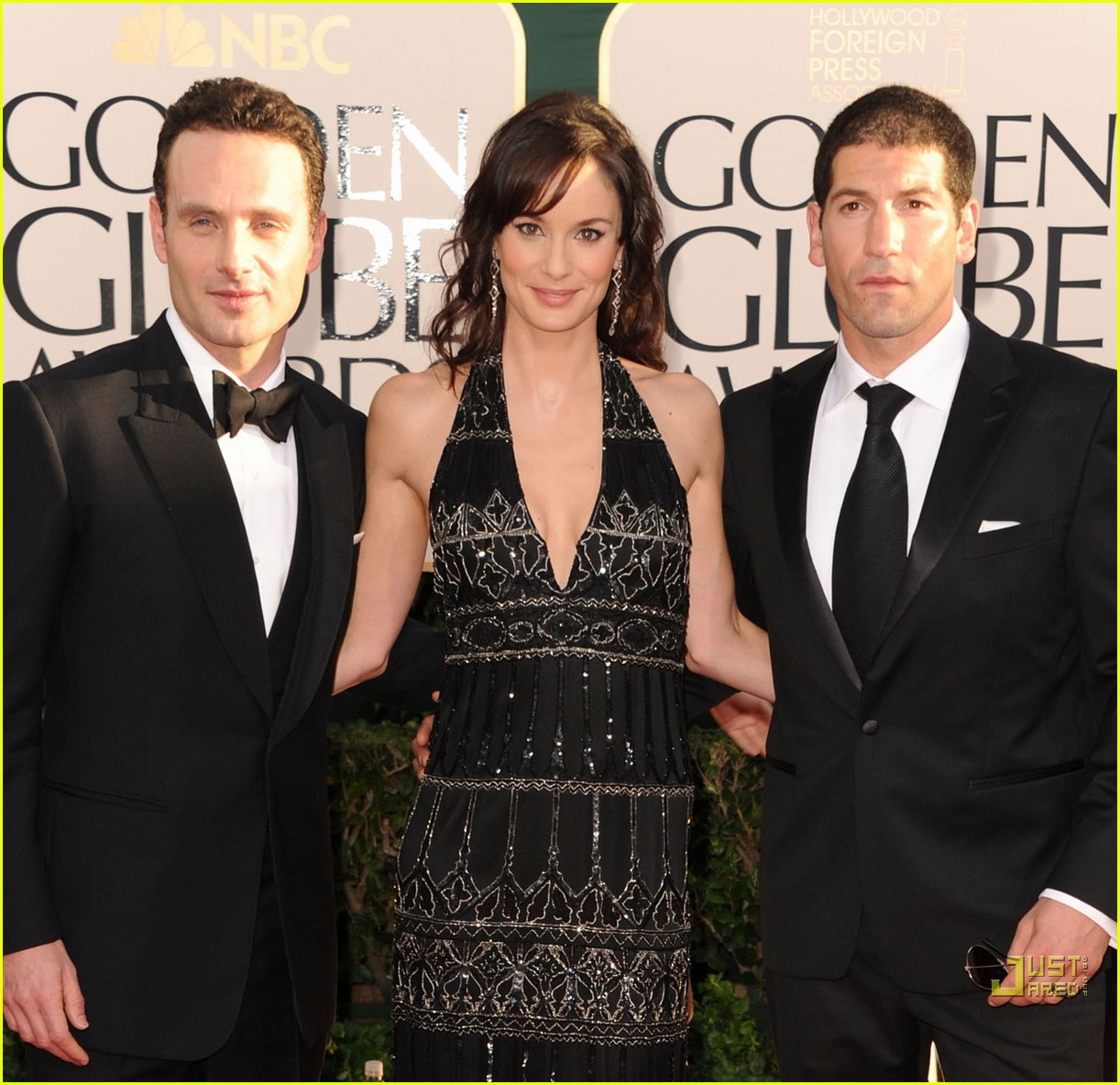 sarah wayne callies golden globes 2011 02