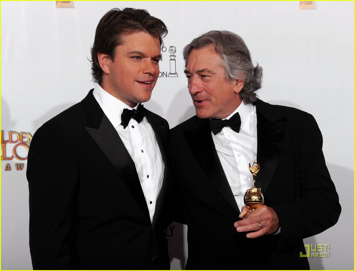 matt damon robert de niro golden globes 07