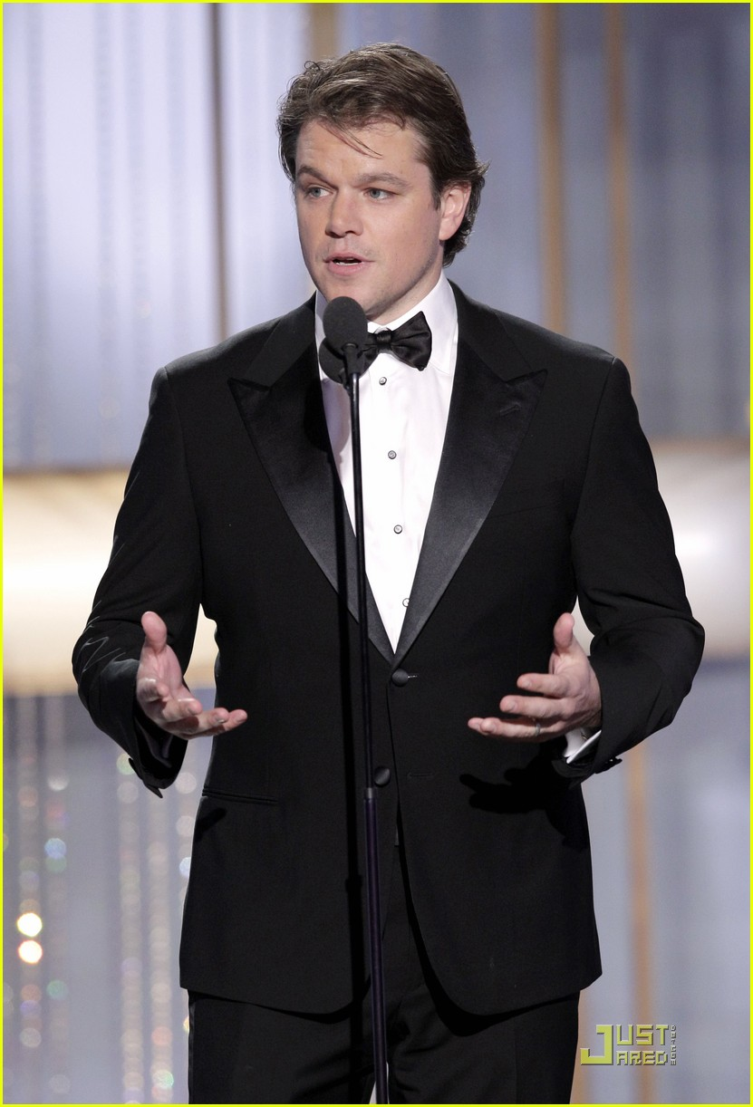 matt damon robert de niro golden globes 12