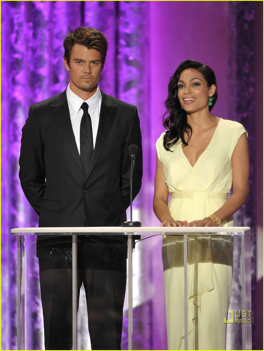 rosario dawson josh duhamel sag awards 2011 06