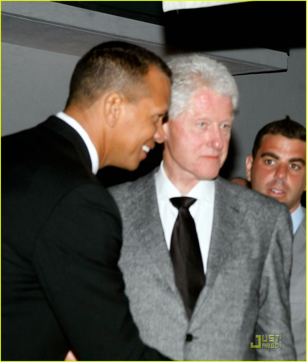 cameron diaz alex rodriguez bill clinton miami dinner 012513271