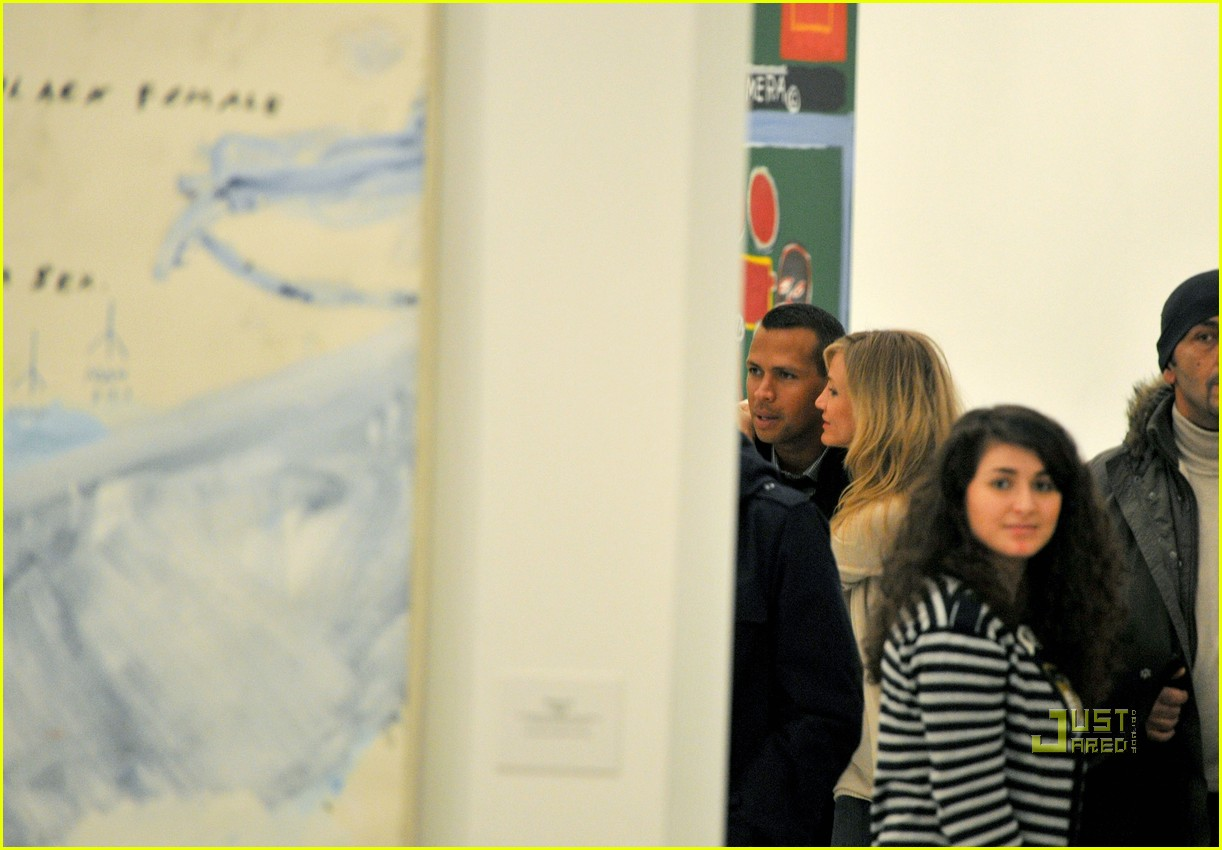 cameron diaz alex rodriguez art shopping paris 03