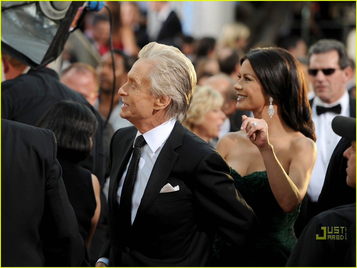 michael douglas catherine zeta jones golden globes 2011 04